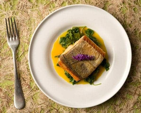 Trout with Orange Saffron Sauce Recipe