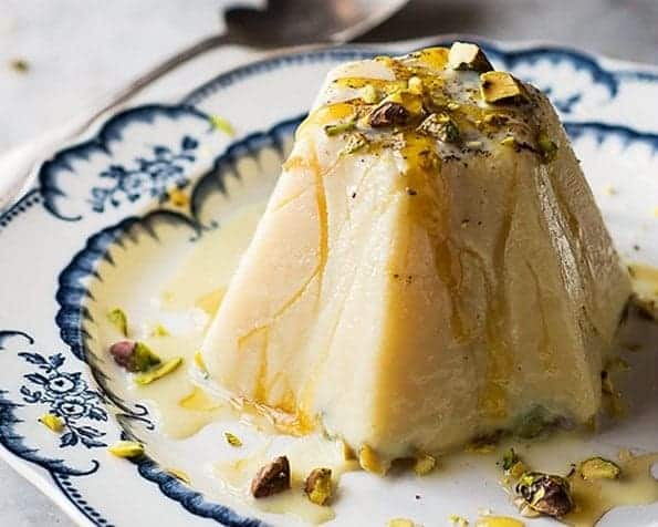 Honey, Pistachio and Saffron Kulfi Recipe