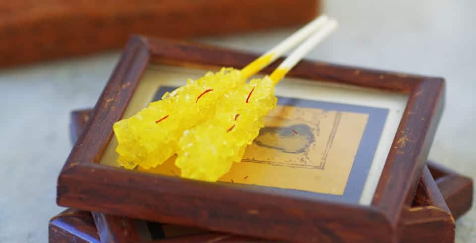 Is Saffron Rock Candy the Sweet Secret of Ancient Persian Medicine?