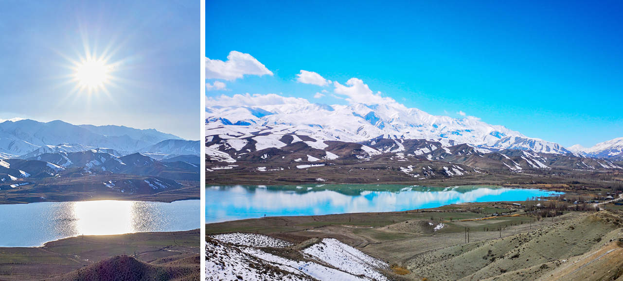 Picturesque Iranian Mountain Ranges