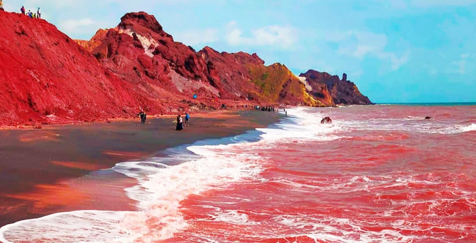 Hormuz Red Beach: Iran's Unique Coastal Paradise